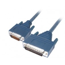Cisco LFH60 Male to DB25 RS232 DTE Male 10ft Cable 72-0793-01