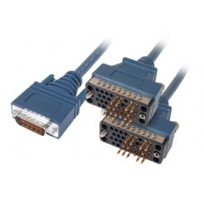 "Cisco LFH60 Male to 2 x V.35 DTE Male 10ft ""Y"" Cable 72-1354-01"