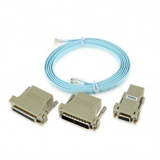 Cisco Green RJ45 to RJ45 Rollover Console Cable