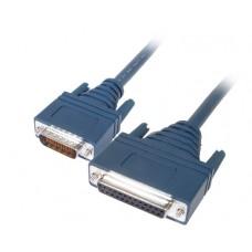 Cisco LFH60 Male to DB25 RS530 DCE Female 10ft Cable 72-0798-01