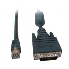 Cisco E1 ISDN PRI DB15 to RJ45 3m Cable 72-1225-01