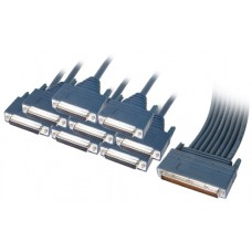Cisco 8 Lead Octal Cable and 8 Female RS232/V.24 DCE Connectors 72-1105-01