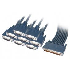 Cisco 8 Lead Octal Cable and 8 Female X21 DCE Connectors