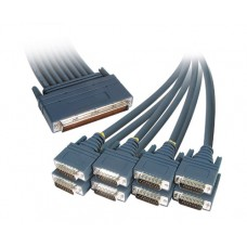 Cisco 8 Lead Octal Cable and 8 Male X21 DTE Connectors