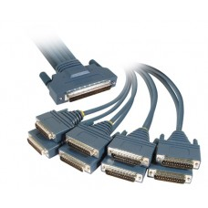 Cisco HPDB 68 Male to 8 DB25 Male Cable 72-0990-01