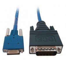 Cisco Smart Serial Male DCE to LFH60 Male DTE 2ft Crossover Cable